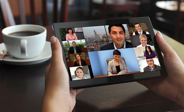 multiparty mobile Videokonferenz